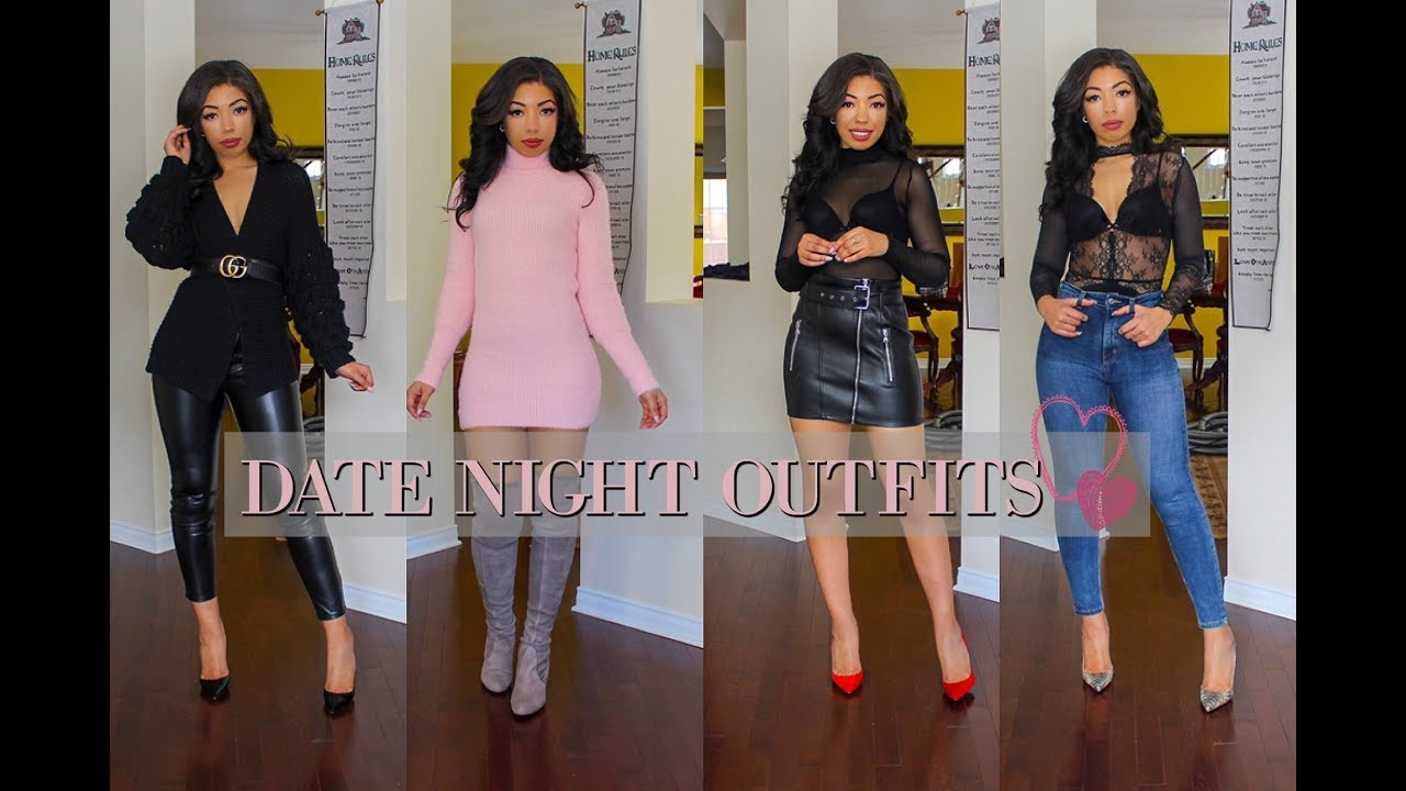 VALENTINE'S DAY OUTFITS 2019   5 DATE OUTFIT IDEAS –  LOOKBOOK + How to Style