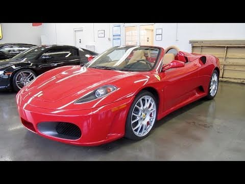 2008 Ferrari F430 Spider 6-spd Start Up, Exhaust, and In Depth Tour/Review