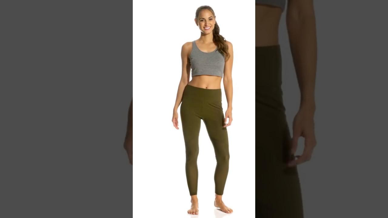 211dc8be00d4c Marika Olivia Vented High Rise Tummy Control Yoga Leggings | SwimOutlet.com