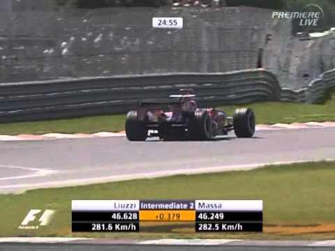 F1 Canada 06 FP3 - Vitantonio Liuzzi Lap