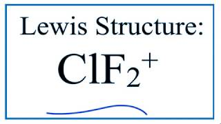 How To Draw The Lewis Structure For Clf2 Youtube