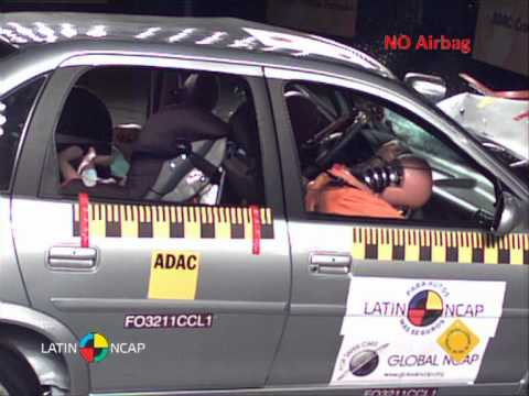 Chevrolet Corsa Classic - Crash test - Latin NCAP 2011