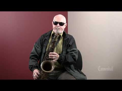 Don Menza - Lesson on Tone - Cannonball Saxophones
