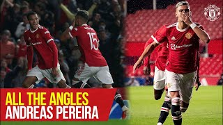 Andreas Pereira | All The Angles v Brentford | Manchester United
