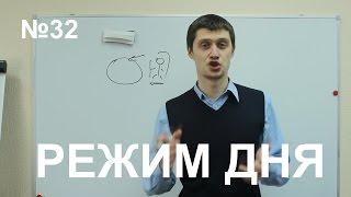 Режим дня. Уроки тайм-менеджмента Олега Лялика. №32. Правильный режим дня человека