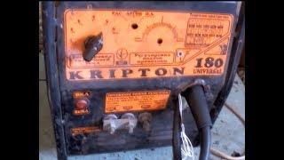 Переделка сварочного полуавтомата KRIPTON 180 , или как из г**на сделать пулю...(Больше я на такое не подпишусь...Потратил 2 недели , человек заплатил 4500 грв , из которых больше 2000 ушло на..., 2016-09-22T20:41:57.000Z)