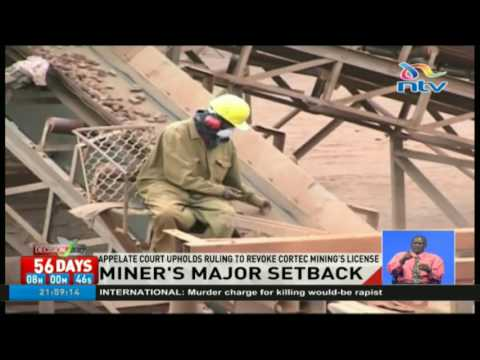 Cortec Mining suffers major setback as ruling is upheld