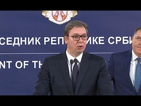 Вучић: Србија ће уложити још 8,4 милиона евра за пројекте у РС и БиХ