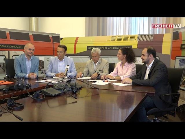 Reschenbahn und Bahntour - Die Pressekonferenz