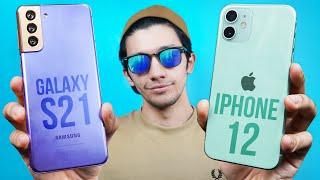 Samsung Galaxy S21 vs iPhone 12 - Clean Sweep Again?