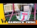 DIY Hammock Chair from Old Swing Frame