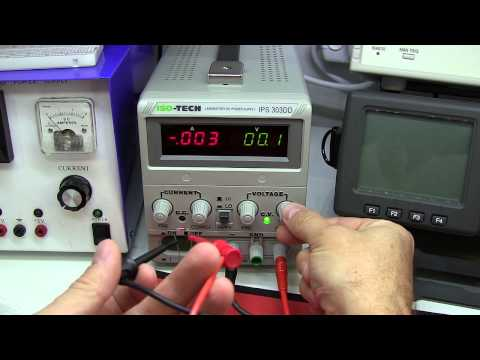 Tutorial: How To Test / Measure The Value Of A Zener / Avalanche Diode