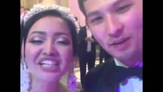 Свадьба Аши Матай и Армана Конырбаева. Ресторан