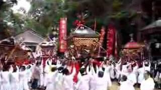 10/14に行われた祭の動画です。
