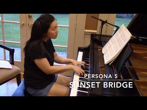 Sunset Bridge - Persona 5 (piano cover)
