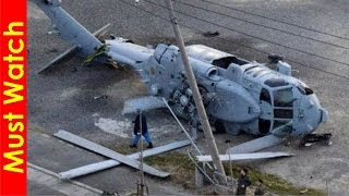 Amazing helicopter crash landing, helicopter crashes caught on tape, helicopter accident compilation