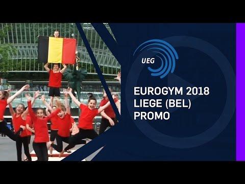 EUROGYM 2018 Liege (BEL) promo