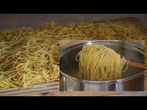Makaron Domowy najlepszy jak zrobić How to make homemade pasta