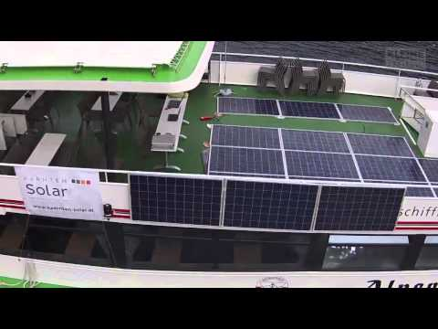 Testlauf: Alpenperle fährt mit Sonnenenergie