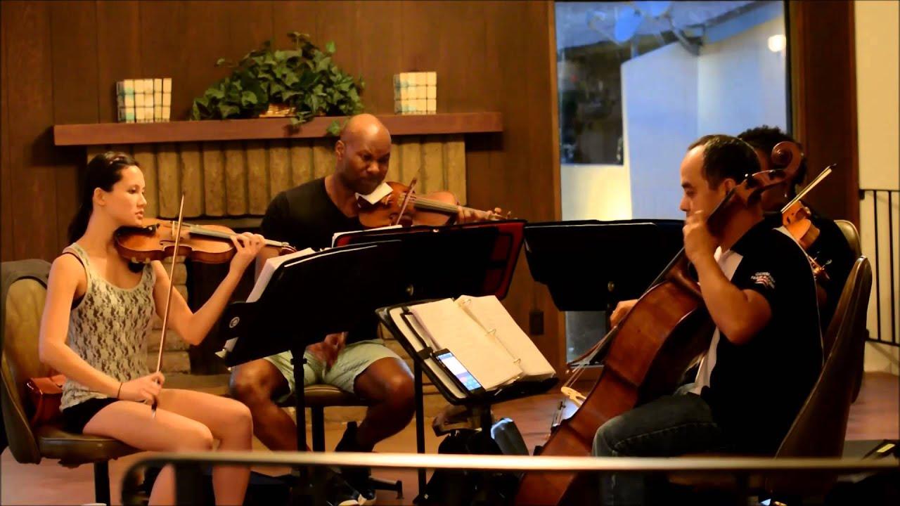 Wedding String Quartet Hallelujah Jeff Buckley By The Ocdamia