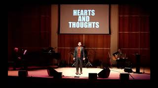 Javier Muñoz Sings Hearts and Thoughts.