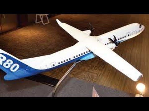 Aircraft Made in Indonesia - R80 Pesawat Pengembangan N250