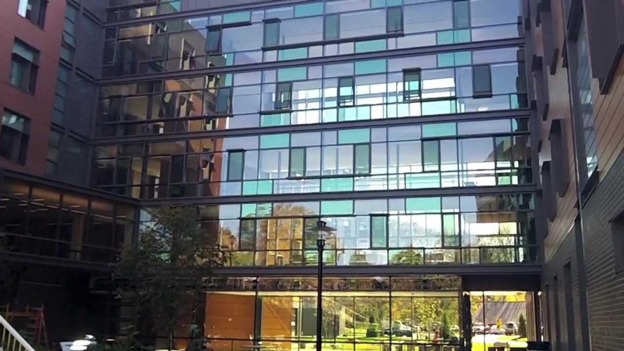 University Of Rhode Island >> URI's New Hillside Hall - YouTube