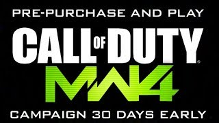 Call of Duty Modern Warfare 4 Pre-Order Listing IS LIVE! (COD MW4 Reveal Trailer COMING Soon)