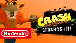 Crash Bandicoot Trailer-Super Smash Bros. Switch