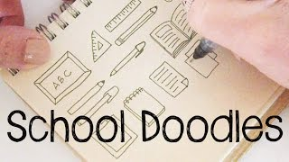 School Doodles   Doodle for Kids   Doodle with Me