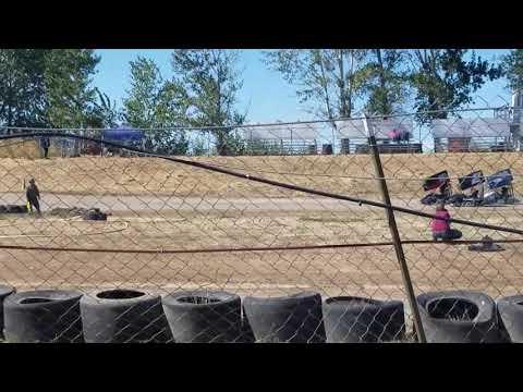 250f Outlaw Kart   Sandhollow Raceway Park Tator Cup day 2   9/24/17