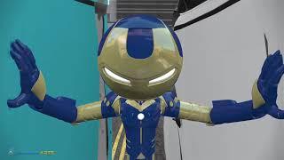 Enthiran The Robot (3D Iron Stickman vs Robot)