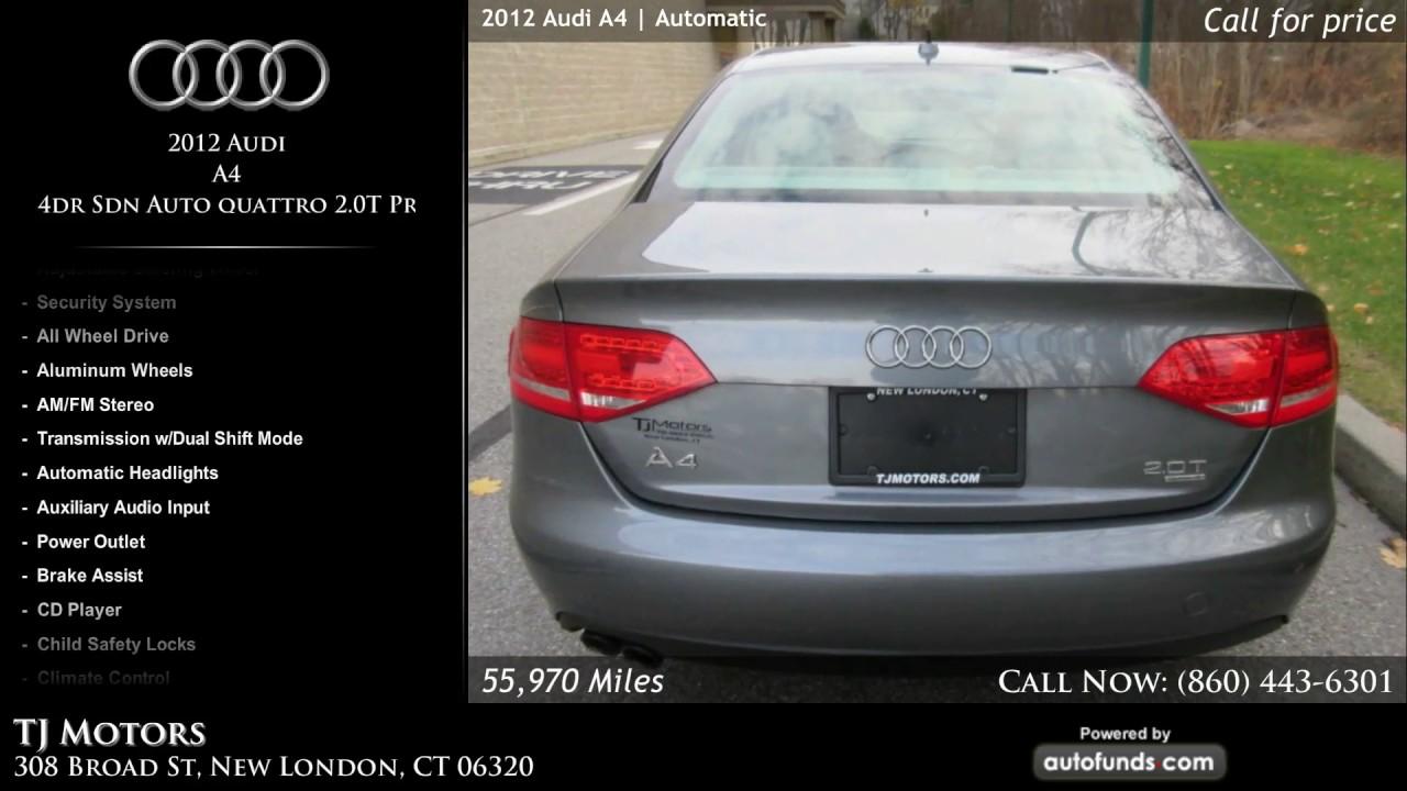 Used Audi A TJ Motors New London CT SOLD YouTube - Audi new london
