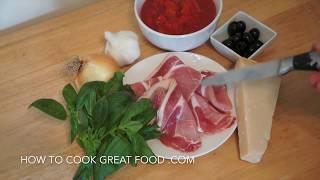 Easy Bacon & Tomato Pasta Sauce