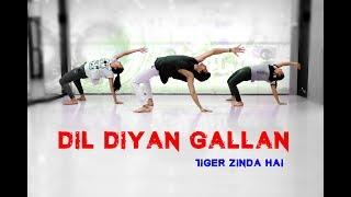 Dil Diyan Gallan | Tiger Zinda Hai | Dance Choreography | Mohit Jain's Dance Institute MJDi