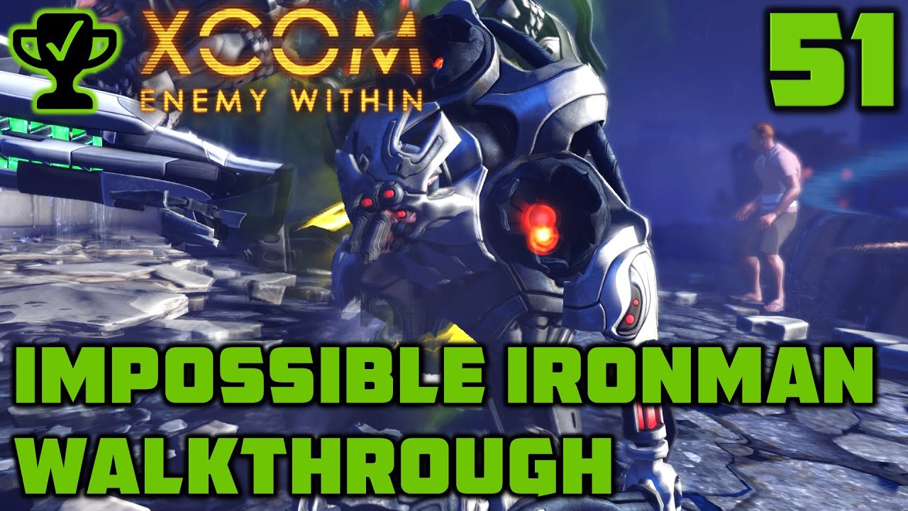 Pale Horse - XCOM Enemy Within Walkthrough Ep. 51 [XCOM Enemy Within Impossible Ironman]