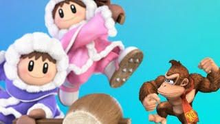 THE DONKEY KONG MURDERER | Smash Ultimate Online Battle | Ice Climbers Gameplay