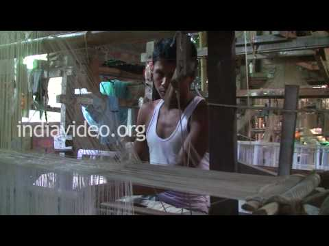Weaving in Sualkuchi, Assam