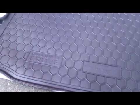 Коврик в багажник Chevrolet Cruze седан Avto gumm полиуретан