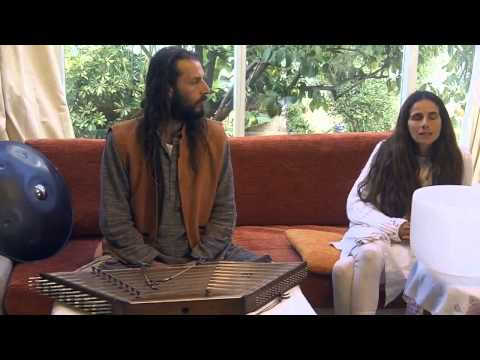 Whitefeather & Ori from Sagol-  Sound Healing Eco Village - Part 2