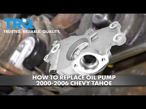 How to Replace Oil Pump 2000-06 Chevy Tahoe