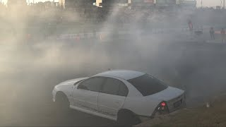 INFECTED- MANUAL VY SS BURNOUT AT MOTORVATION 33