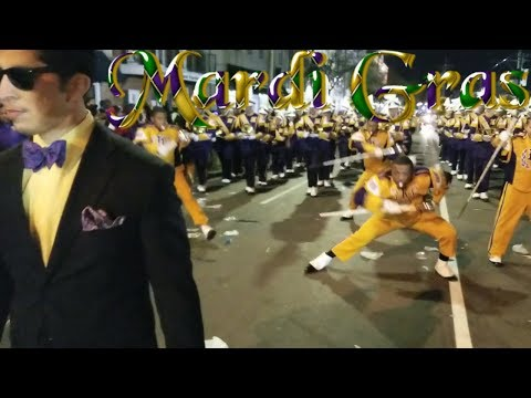 Edna Karr High Marching Band