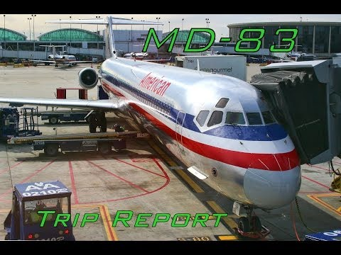 American Airlines MD-80 Experience! First Class and Economy!