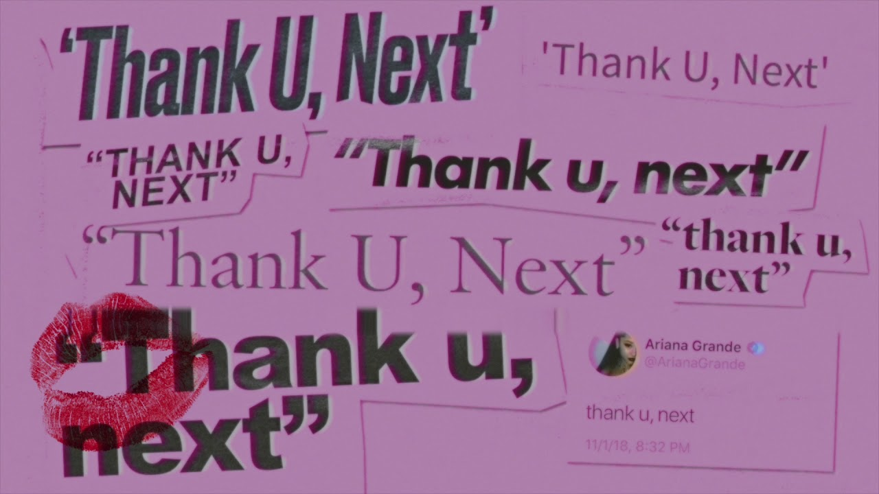 Image result for thank you next ariana grande