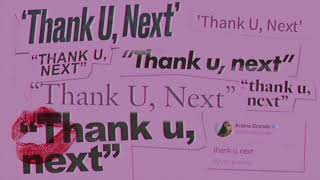 Ariana Grande - thank u, next (audio) Video
