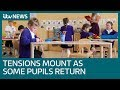 Tensions Continue Over Coronavirus Lockdown Easing As Some In England Return To Schools | ITV News