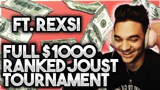 $1000 RANKED JOUST TOURNAMENT (FULL) - Smite