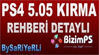 PS4 5.05 KIRMA OYUN YÜKLEME REHBERİ / BySaRiYeRli /5.05  EXPLOİT FULL
