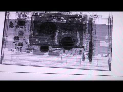Baggage X-Ray machine part 4